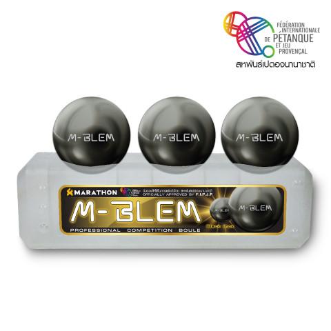 เปตอง INOX BLACK รุ่น M-BLEM .