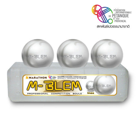 Marathon INOX WHITE รุ่น M-BLEM Di 74 C 700 g.